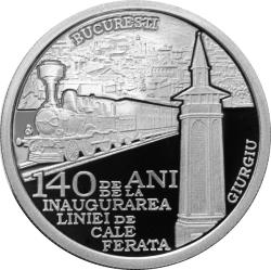 10 Lei 2009 - 140 years since the inauguration of the Bucharest-Giurgiu railway