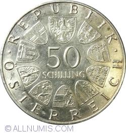 Image #1 of 50 Schilling 1970 - Dr. Karl Renner