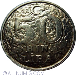 Image #1 of 50000 Lira 1997