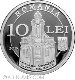 10 Lei 2015 - 130 years since Iuliu Hossu's birth