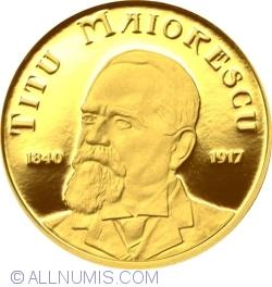 100 Lei 2015 - 175 years birth anniversary of Titu Maiorescu