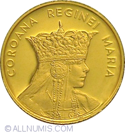 10 Lei 2015 - The History of Gold series - Queen Maria's Crown