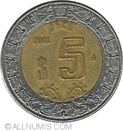 Image #1 of 5 Pesos 2001