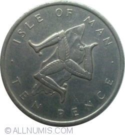 Image #1 of 10 Pence 1976