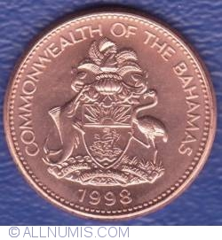 Image #2 of 1 Cent 1998