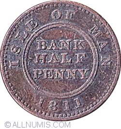 Image #1 of 1/2 Penny 1811