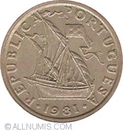 Imaginea #2 a 2-1/2 Escudos 1981