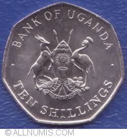 Image #2 of 10 Shillings 1987