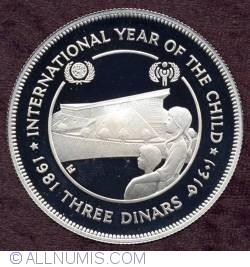 Imaginea #1 a 3 Dinars 1981 - International Year Of The Child