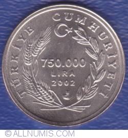 Image #1 of 750000 Lira 2002
