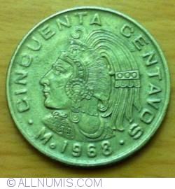 Imaginea #1 a 50 Centavos 1968