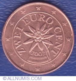 Imaginea #2 a 2 Euro Cent 2002