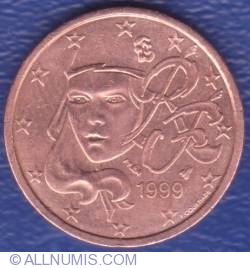 Image #2 of 2 Euro Cent 1999