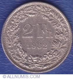 Image #2 of 2 Francs 1982