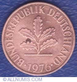 Image #2 of 2 Pfennig 1976 G