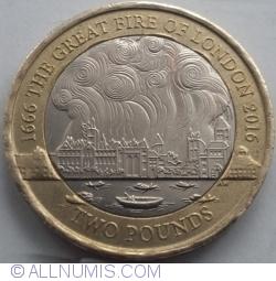 Imaginea #1 a 2 Pounds 2016 - 350 de ani de la Marele incendiu din Londra