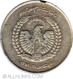 Image #2 of 5 Afghanis 1973 (1352)