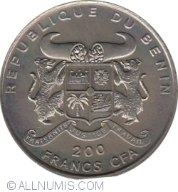 Imaginea #1 a 200 Franci 1995 - 50 de ani de înființarea Organizației Națiunilor Unite