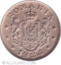 Imaginea #2 a 1 Leu 1924 Poissy