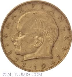 Imaginea #2 a 2 Mărci 1969 J - Max Planck