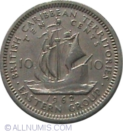 Image #1 of 10 Cents 1962