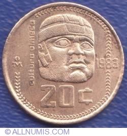 Image #1 of 20 Centavos 1983