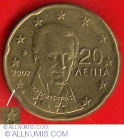 Image #2 of 20 Euro Cent 2002 (E in star)