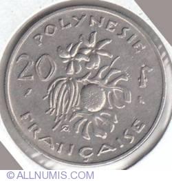 Imaginea #2 a 20 Francs 1970