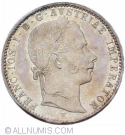 1/4 Florin 1862 E