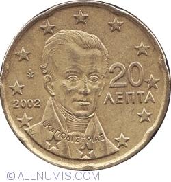 20 Euro Cent 2002