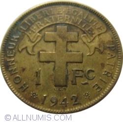 Image #1 of 1 Franc 1942