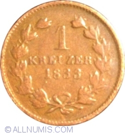 Image #1 of 1 Kreuzer 1833