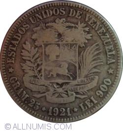 Imaginea #1 a 5 Bolivares 1921
