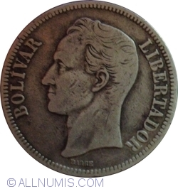 Imaginea #2 a 5 Bolivares 1921