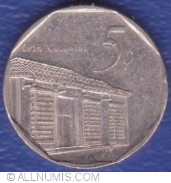 Image #1 of 5 Centavos 1996
