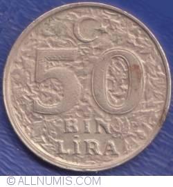 Image #1 of 50000 (50 Bin) Lira 1999