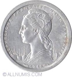 Image #2 of 1 Franc 1948