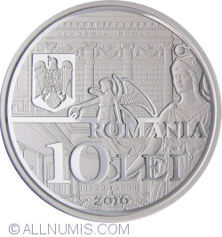 Image #1 of 10 Lei 2016 - 150 years since the establishment of the Romanian Academy - set of three coins
