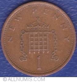 1 New Penny 1974