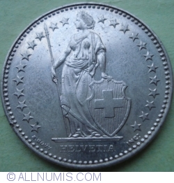 Image #2 of 2 Francs 2000