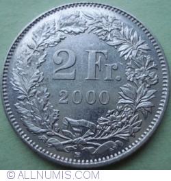 Image #1 of 2 Francs 2000