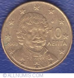 Image #2 of 10 Euro Cent 2008