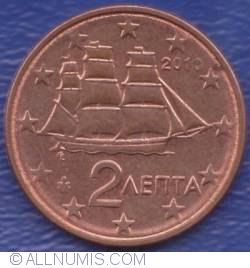 Image #2 of 2 Euro Cent 2010