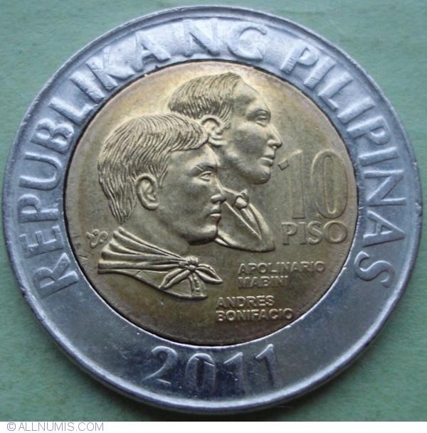 Philippines set 7 coins 1 5 10 25 Sentimo 1 5 10 Piso 1993-2011 UNC Lemberg-Zp