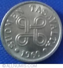 Image #2 of 5 Markkaa 1960