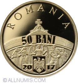 50 Bani 2017 - 100 de ani de la victoriile armatei române de la Mărăști, Mărășești și Oituz - monedă pentru colecționare
