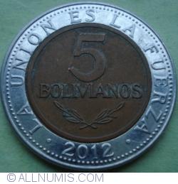 Image #1 of 5 Bolivianos 2012