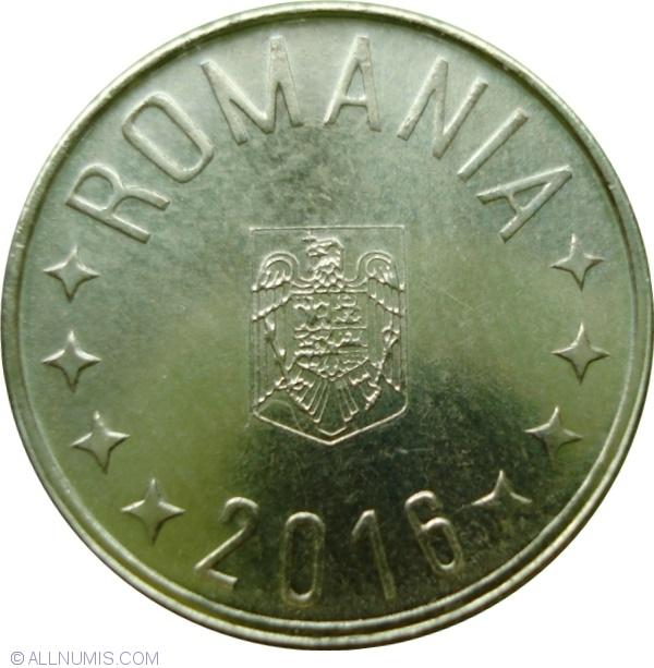 ROMANIA Set LOT coins 1 ban 5 10 50 BANI 2016 UNC coin ROMANIAN Iancu HUNEDOARA