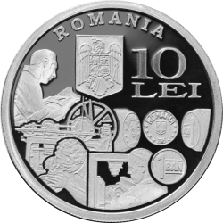 Image #1 of 10 Lei ND (2011) - 140 years since the establishment of the State Mint