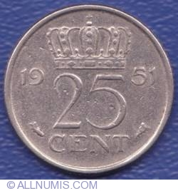 Image #1 of 25 Cent 1951